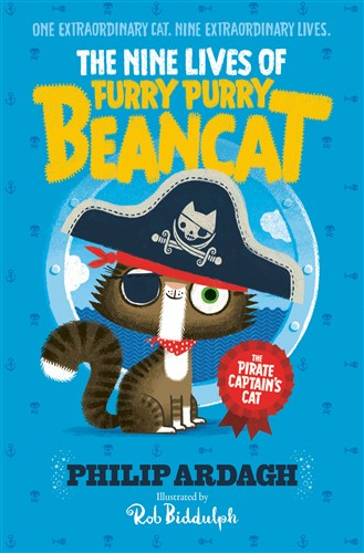 Furry Purry Beancat: The Pirate Captain's Cat