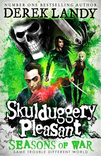 Skulduggery Pleasant 13: Seasons of War